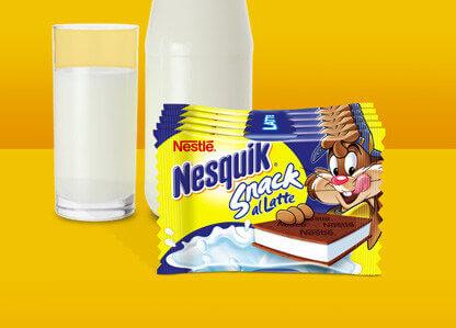Nesquik-snacklatte