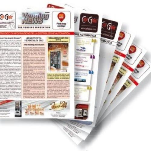 Abbonati alla rivista bimestrale Vending News – Sostieni l'informazione del vending