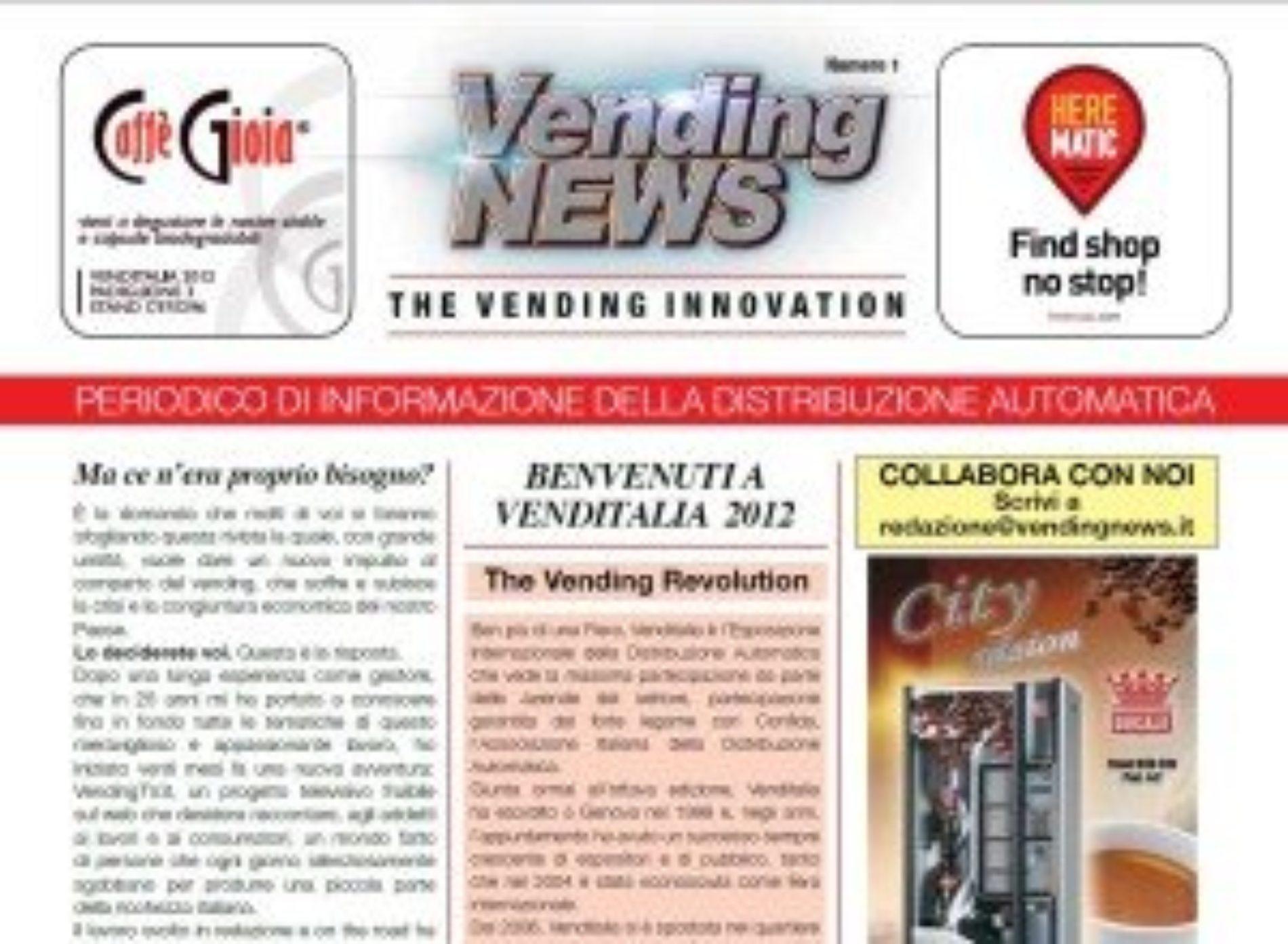 Rivista Vending News – Leggi il numero 1