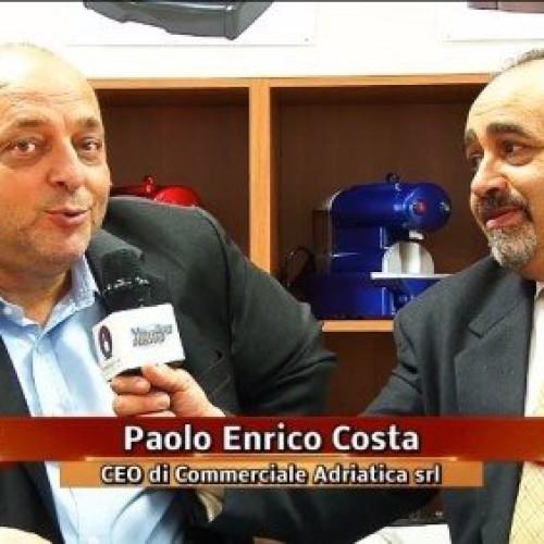 Fabio Russo in visita alla nuova sede di Commerciale Adriatica srl