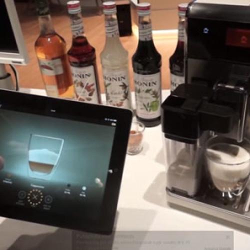 """Con Saeco GranBaristo Avanti il """"tuo"""" caffè via tablet"""
