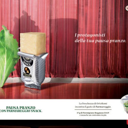 Dalla partnership tra Ortoromi e Parmareggio un nuovo piatto pronto