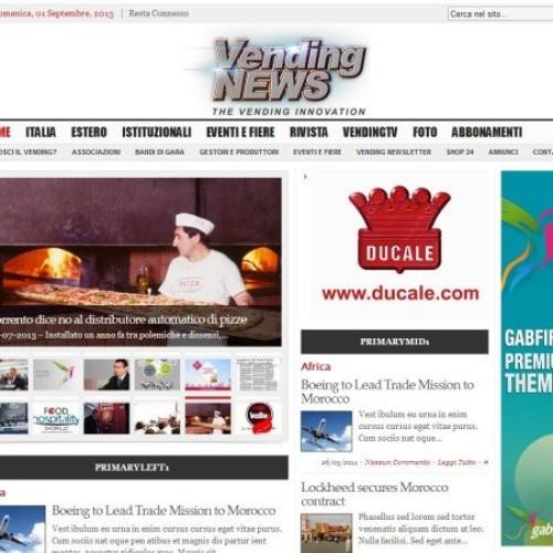 Benvenuti nel nuovo Vending NEWS Daily