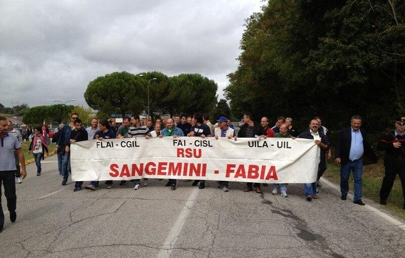 sangemini sciopero