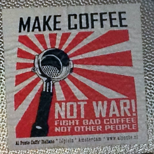 Gli slogan cambiano in nome del buon caffè