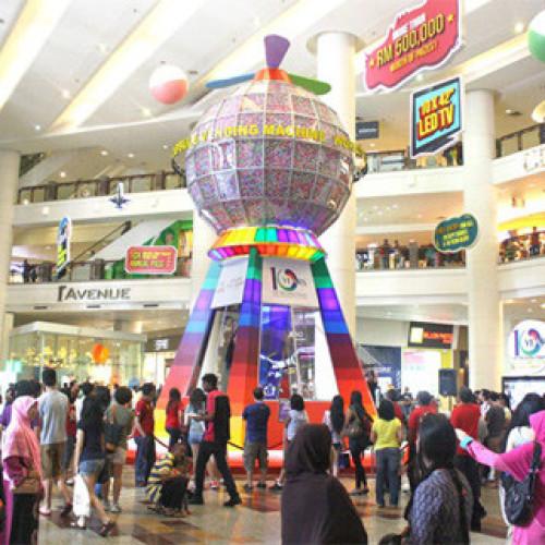 Malesia. Il distributore automatico da Guinness