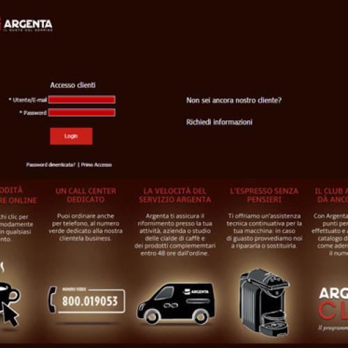 Shop online per Argenta