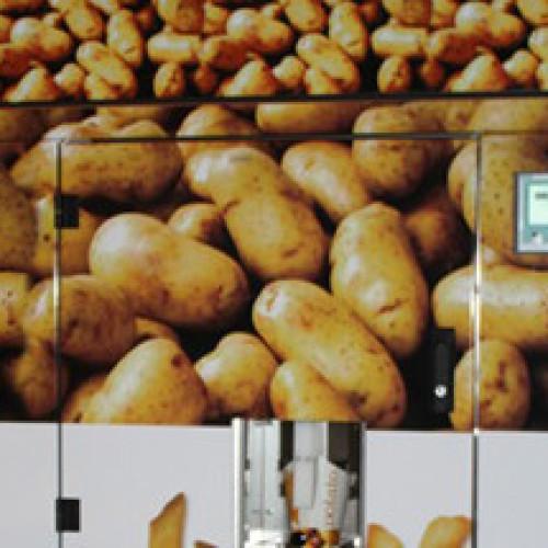 Svizzera. Le patatine fritte nel vending made in Swiss