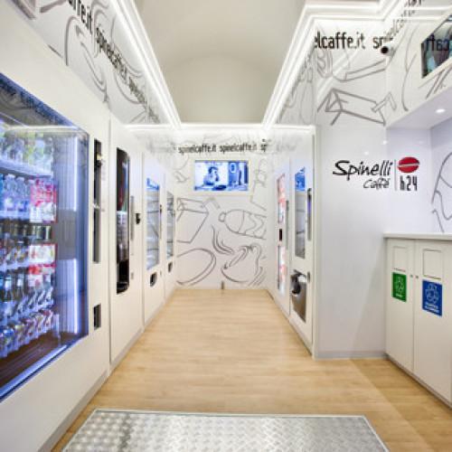 Inaugurato il quarto Spinelli Caffè h24