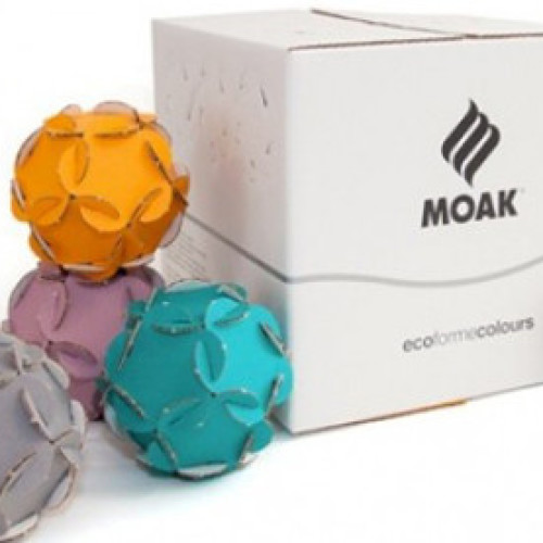 Ritornano a colori le paper ball di Caffè Moak