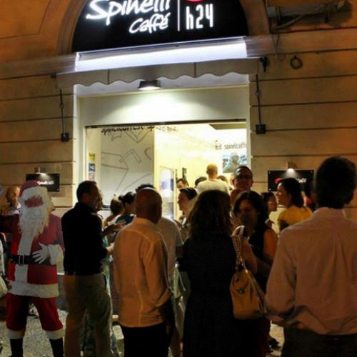 Continua il tour natalizio di Spinelli Caffè h24