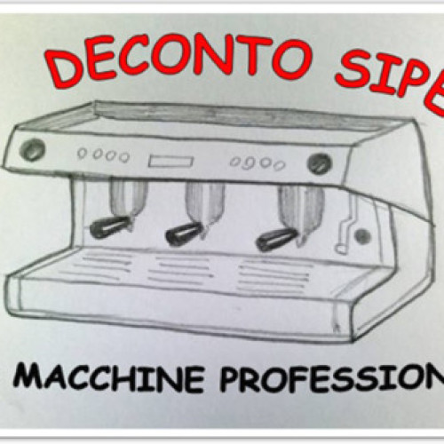 Il deconto per macchine professionali di SIPE