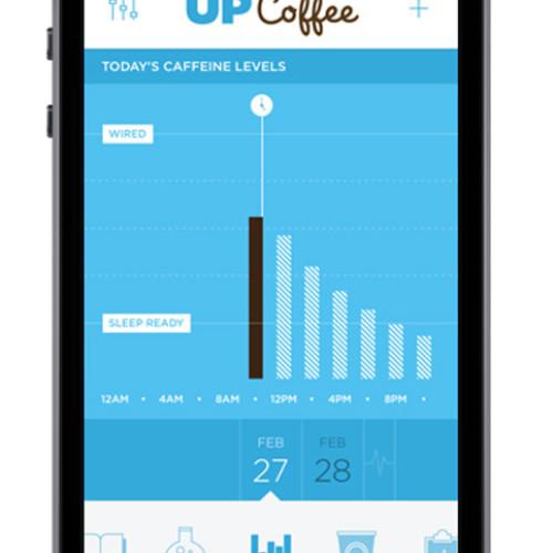 Con Up-Coffee la caffeina è sotto controllo
