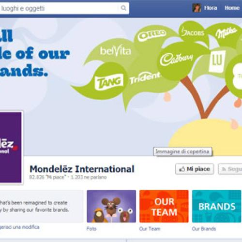 La comunicazione di Mondelez si sposta su Facebook