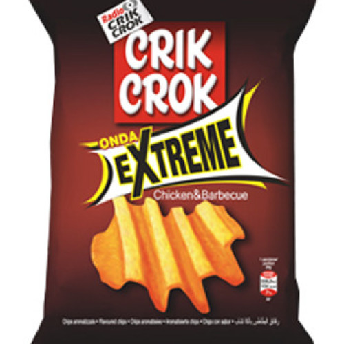 Le patatine Extreme di Crik Crok