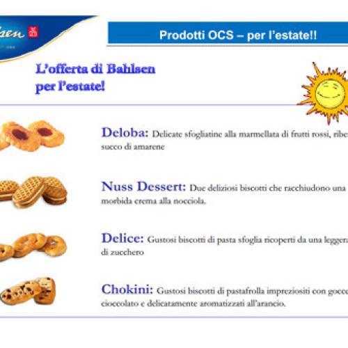 L'offerta premium di Bahlsen per l'O.C.S.