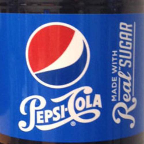 Al lancio la Pepsi con vero zucchero