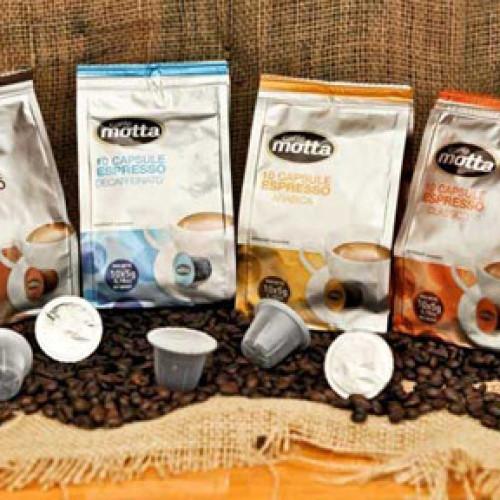 Le capsule di Caffè Motta a Cibus 2014
