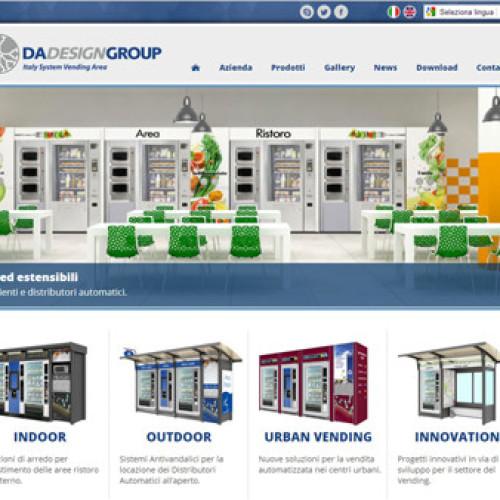 Nuovo sito per D.A. Design Group