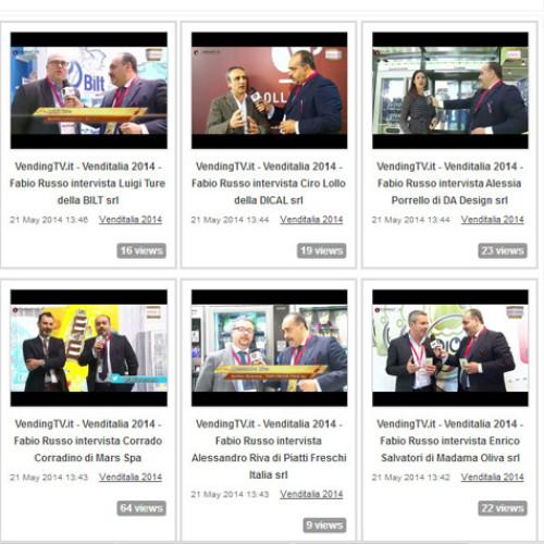 """Online i primi servizi video """"Venditalia 2014"""""""