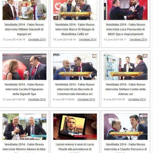 Online su VendingTV.it tutti i servizi video realizzati a Venditalia 2014