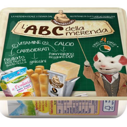 Da Parmareggio l'ABC della merenda