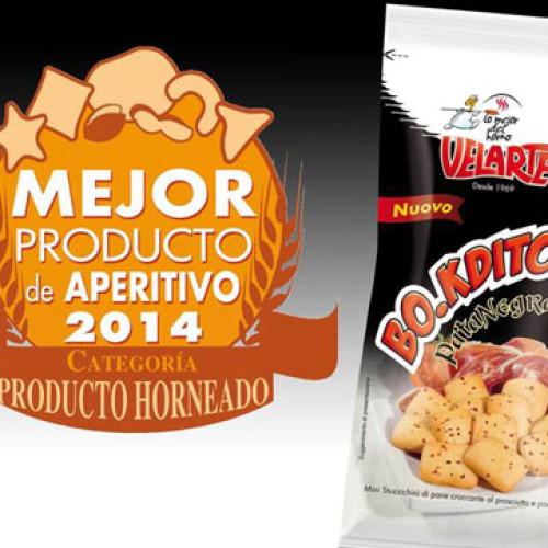 Spagna. Premio a Velarte per Bo.kditos Pata Negra Ricetta Iberica