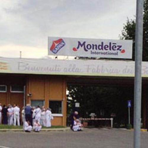 Sciopero di solidarietà alla Mondelez di Capriata