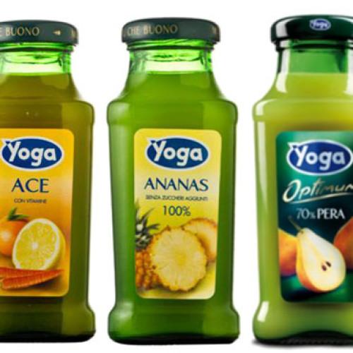 I succhi di frutta Yoga leader nell'Ho.re.ca.