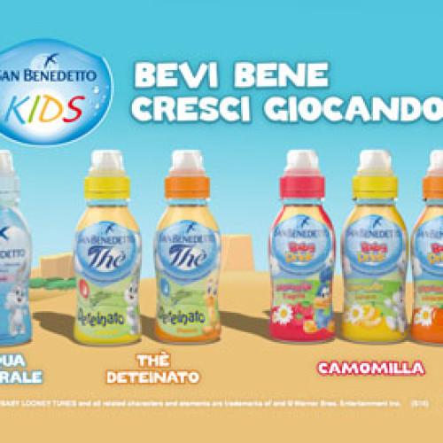 Back to School con i Baby Drink di San Benedetto