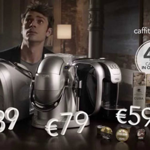 On air la campagna promozionale Caffitaly