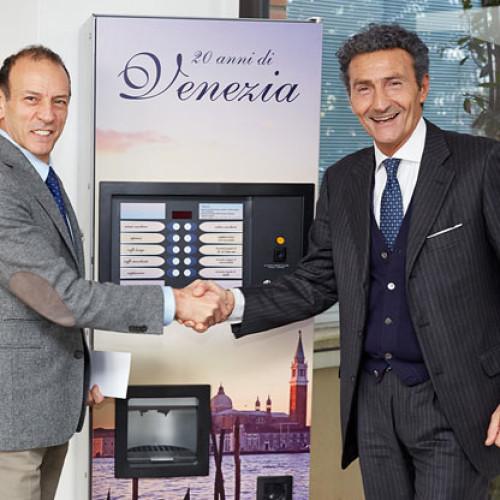 Ecco il vincitore dell'asta Venezia  di N&W #heartofVending