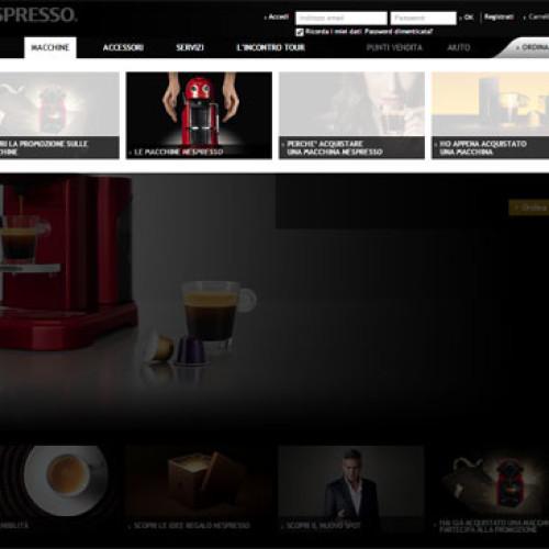 Il miglior sito 2014 è nespresso.com/it