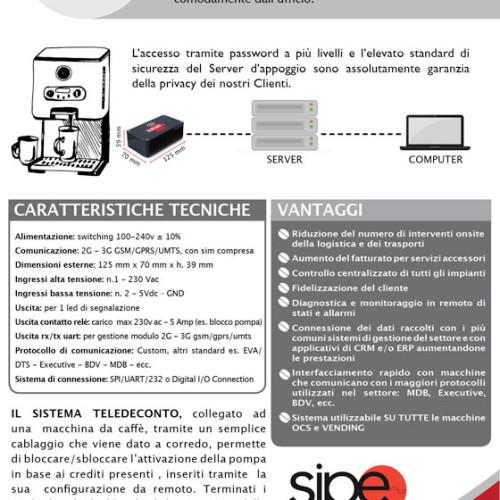 Il nuovo teledeconto progettato da SIPE