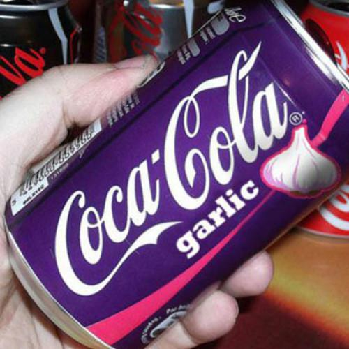 Coca-Cola all'aglio?!?