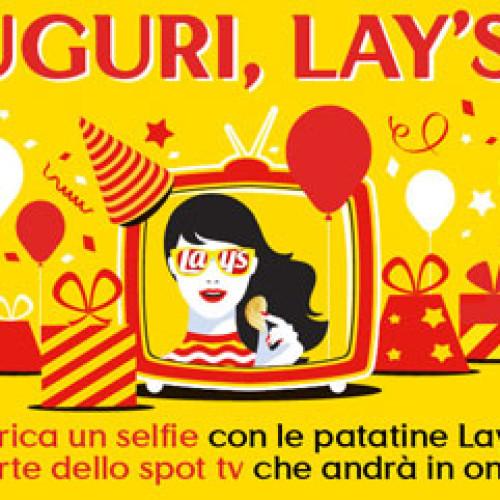 Le patatine Lay's festeggiano un anno in Italia