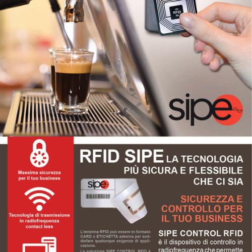 SIPE CONTROL RFID per l'OCS e il Vending