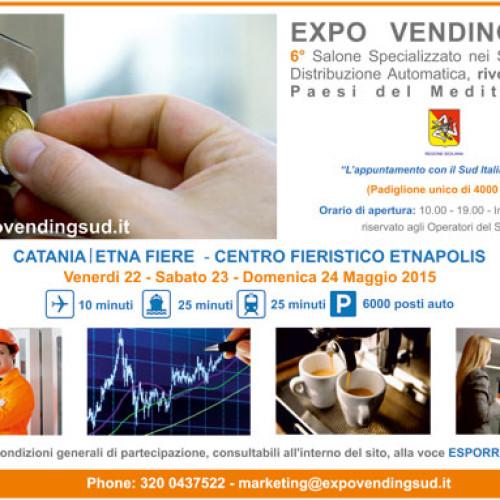 Riscontri positivi per la 6° edizione di Expo Vending Sud