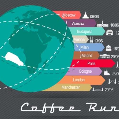 "La RNVA lancia il ""Coffee Run"" europeo"