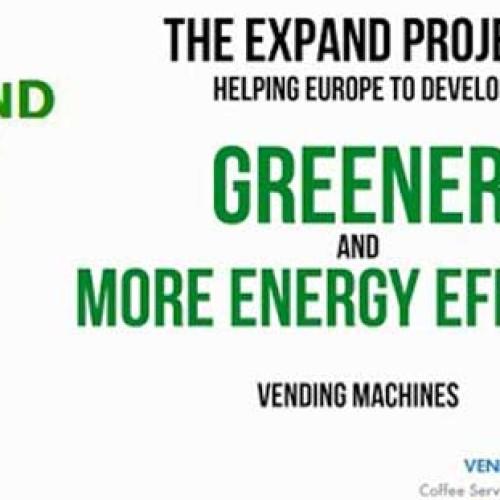 """Il progetto """"Expand"""" della European Vending Association. Stand L22"""