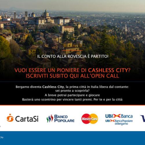 Cashless: la rivoluzione parte da Bergamo