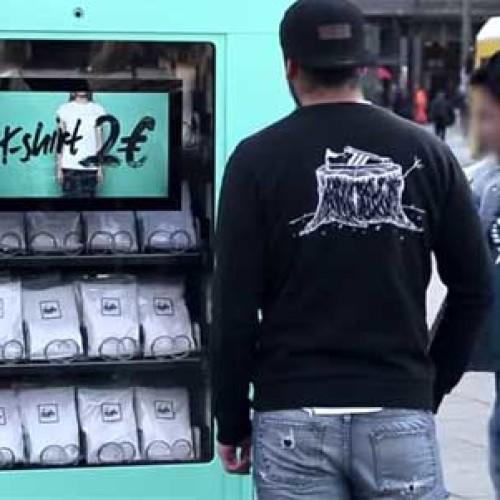 Il vending per un esperimento sociale (Video)