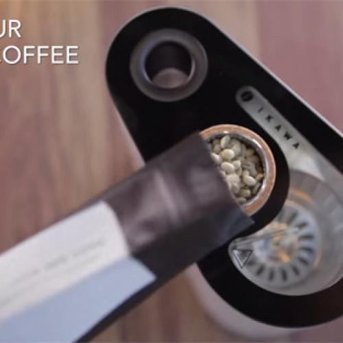 Con IKAWA il caffè te lo tosti a casa (Video)