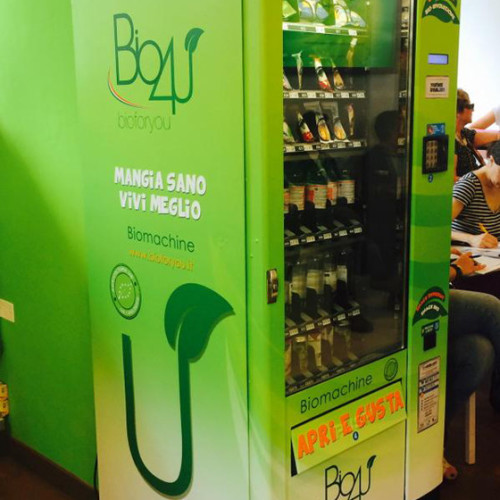 Bio4U. Il biologico nel vending