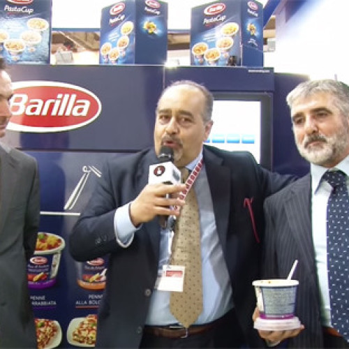 Intervista con Pier Paolo Deidda e Giacomo Barbieri allo stand Barilla