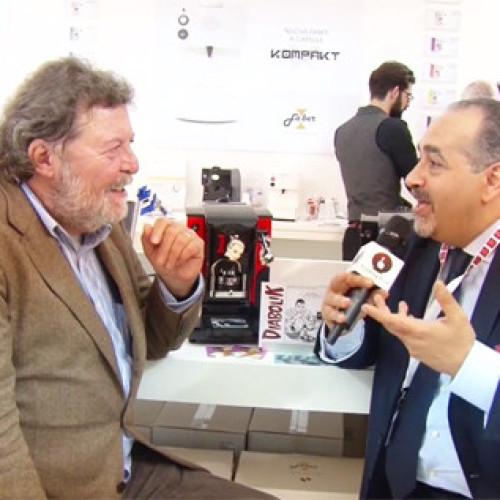 """Vending tv -Intervista """"Diabolika"""" con Mario Gomboli allo stand Faber"""