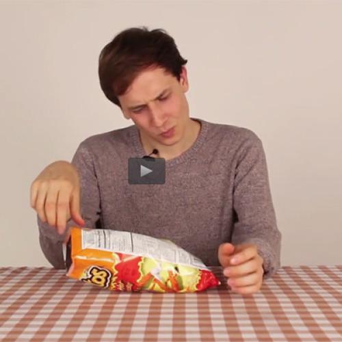 Gli snack americani non piacciono ai ragazzi italiani (Video)