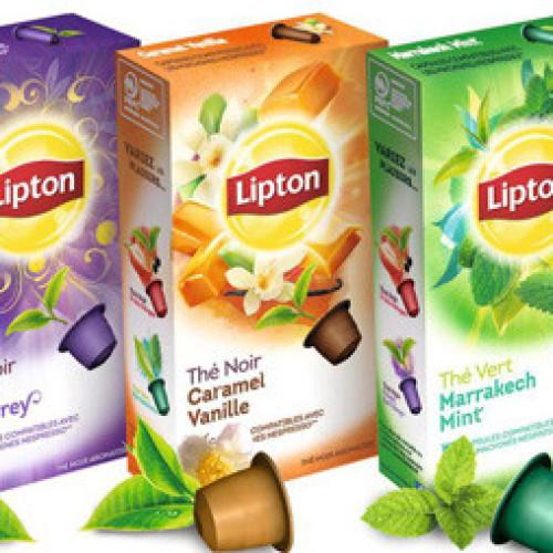 Francia. Lipton lancia the in capsule compatibili Nespresso