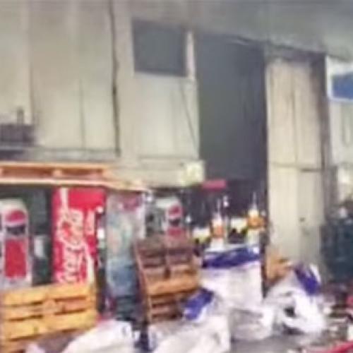 Napoli. Incendio in un capannone cinese colpisce Italmatic Group