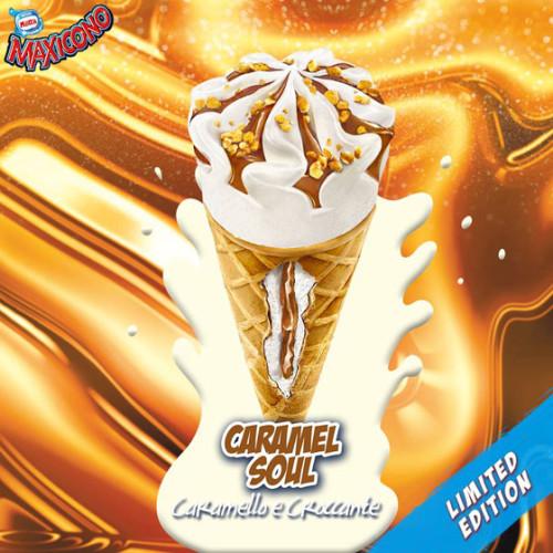 Il nuovo  Maxicono Caramel Soul scelto da Facebook